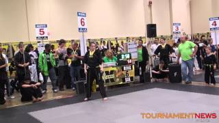 Elizabeth Chase Open Musical Weapons at Kumite Classic 2013