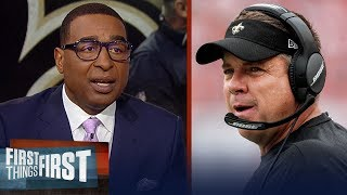Cris Carter on if Sean Payton should replace Jason Garrett in Dallas | NFL | FIRST THINGS FIRST
