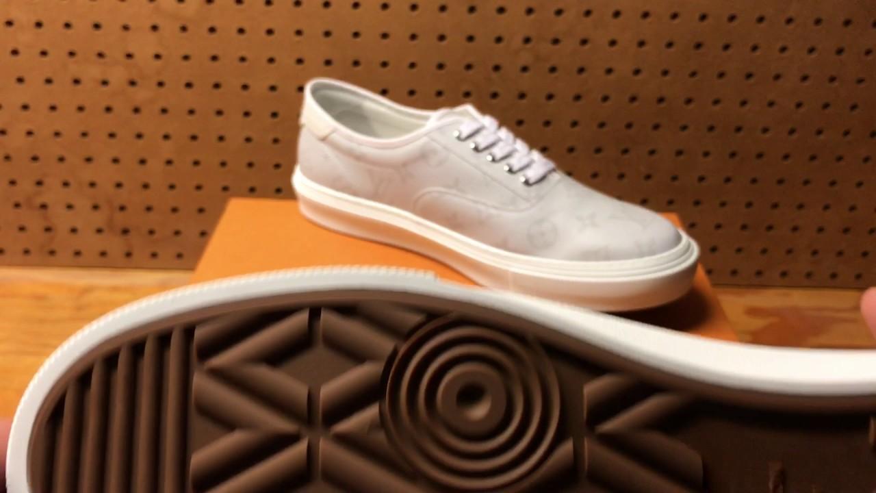 Louis Vuitton White Trocadero Sneaker Review - YouTube 3b54d30dab4
