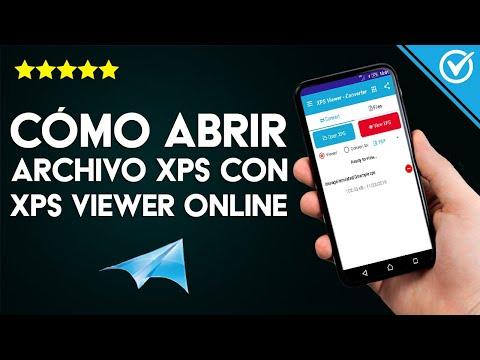 Cómo Abrir un Archivo XPS con XPS Viewer Online en Android, iOS, PC Windows o MAC