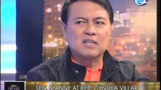 "Manny Villar talks about growing up poor on ""Tonight with Arnold Clavio"""