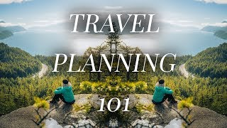 TRAVEL PLANNING 101 || How To Plan For A Long Trip Abroad || Bonjour Coley