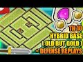 Clash Of Clans - New Town Hall 10 (TH10) Hybrid Base 2017 + Defense Replays | ANTI BOWLER | ANTI AIR