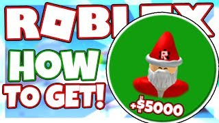 How to get the HELP SANTA BADGE + 5000 CASH | Roblox Snow Shoveling Simulator