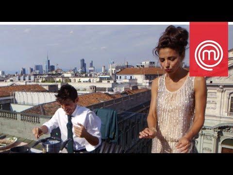 Laura Barriales copia da Fayna | Celebrity MasterChef Italia 2