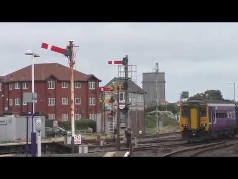 Blackpool North Trains & Semaphore Signals British Rail  August 2016