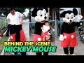 Di Balik Layar Badut Mickey Mouse. Behind the Scene mickey mouse