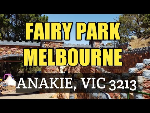 Fairy Park In Melbourne, Anakie, VIC