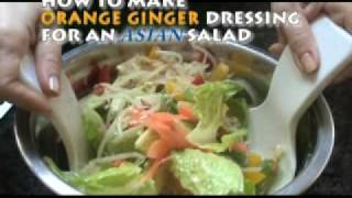 Orange Ginger Dressing/asian Salad