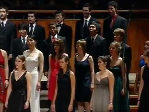 Irving Berlin ''Always'' (arr. Nathaniel Adams) by World Youth Choir in China, 2008