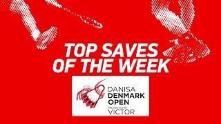 Download Video Top Saves of the Week | DANISA DENMARK OPEN 2018 | BWF 2018 MP3 3GP MP4