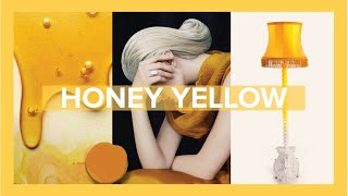 Honey Yellow Spring Summer Color Trend of 2020