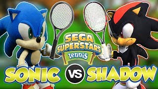 ABM: Sonic Vs Shadow !! SEGA SUPERSTAR TENNIS Match !! HD