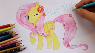 Drawing Fluttershy from My Little Pony