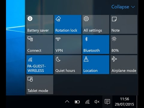 how to turn on bluetooth on windows 10.1