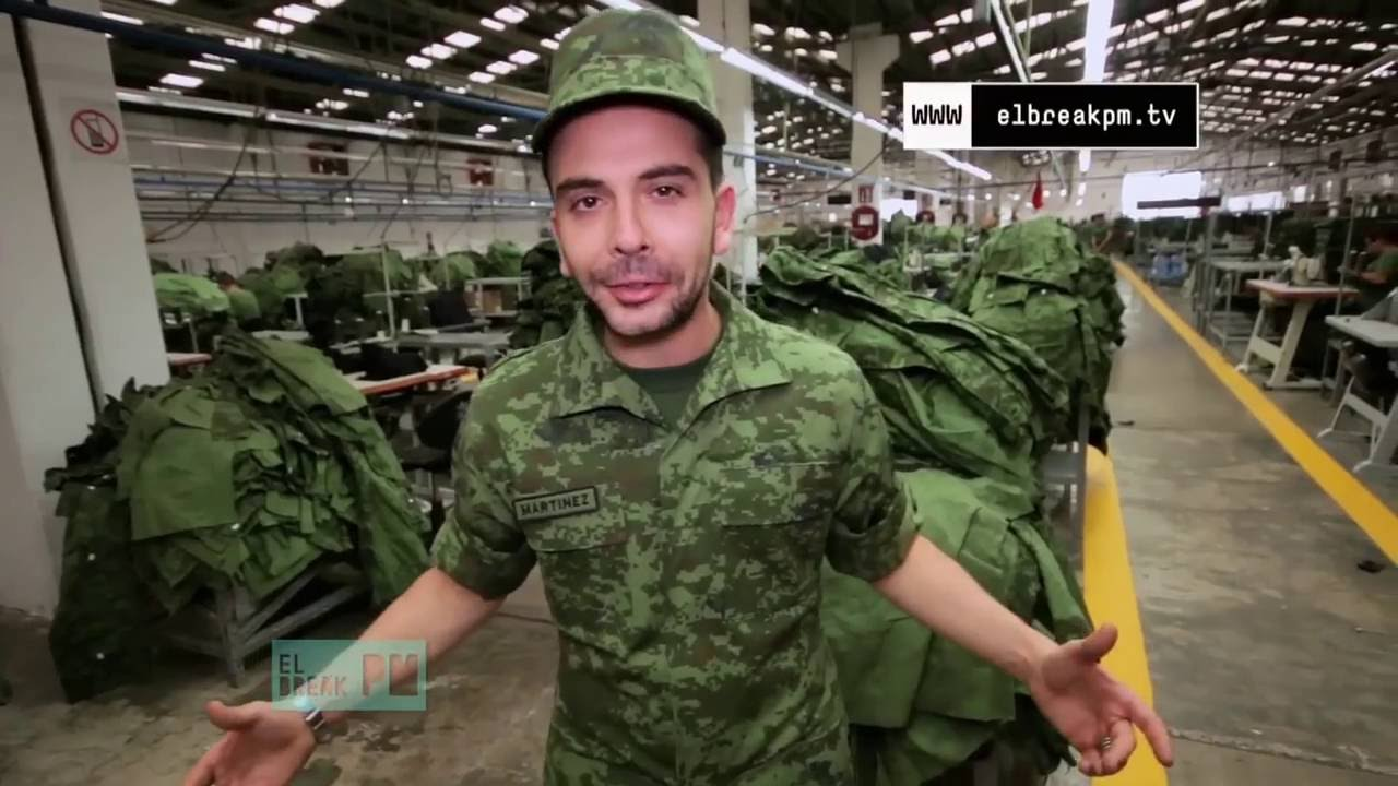 El Break PM - Fave Sedena: La fábrica de vestuario militar ...