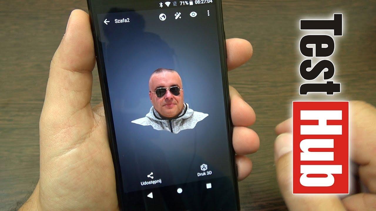 Skanowanie 3D za pomocą smartfona