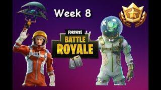 Fortnite: Week 8 NEUE SKINS