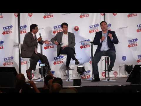 Cenk Uygur Asks Dinesh D'Souza About Racism In America