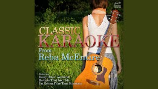 Because of You (In the Style of Reba McEntire & Kelly Clarkson) (Karaoke Version)