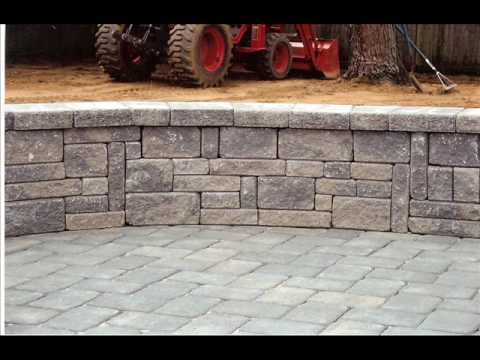 Patio Seating Wall Youtube