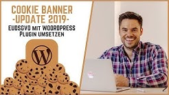 Cookie Banner Update 2020 | EU DSGVO mit WordPress Plugin umsetzen