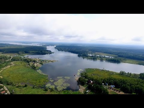 Озеро Уткуль - с высоты 200 метров / DJI Phantom 3/Мастер-Класс Анны Гис