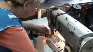 Производство войлочных тапочек. Швейный цех - пошив тапочек.(, 2013-04-25T23:03:06.000Z)