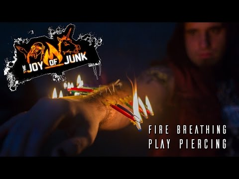 Fire breathing on play piercing with Alexis B.C. thumbnail