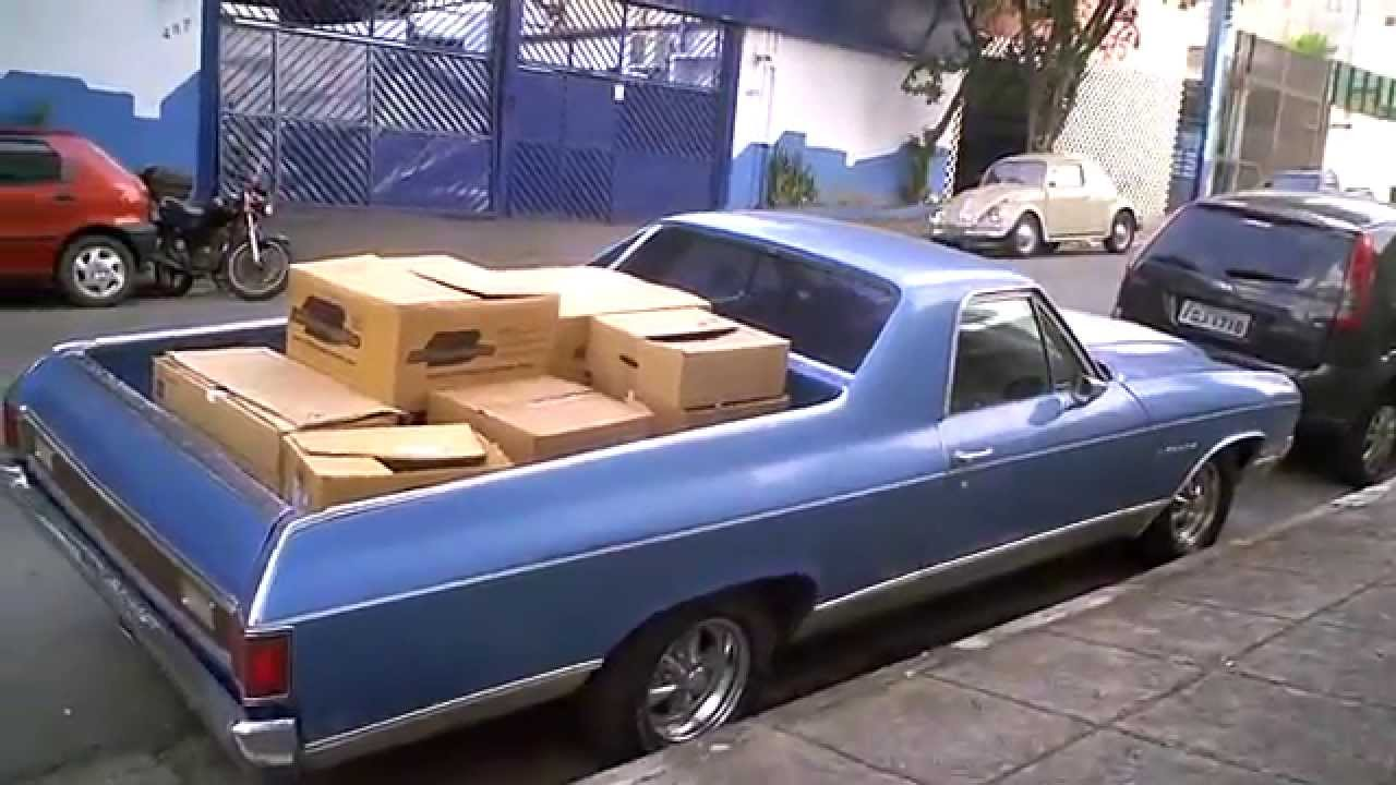 Chevrolet El Camino 1971  YouTube