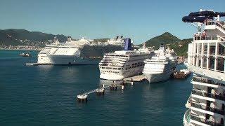 MSC Seaside: Philipsburg, St. Maarten Arrival & Departure on November 28th, 2018