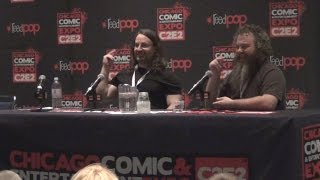 Jim Butcher and Patrick Rothfuss Highlights from C2E2