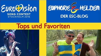 "ESC-Blog ""Euphorie und Helden"" - Tops und Favoriten - Eurovision Song Contest 2016 - Germany"