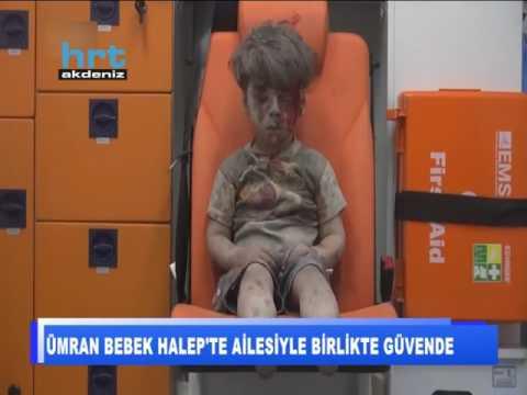 Ümran bebek Halep'te ailesiyle birlikte güvende