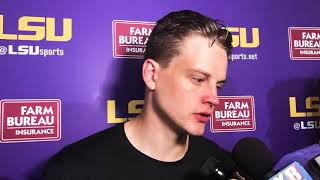 FULL Joe Burrow press conference after beating Northwestern State