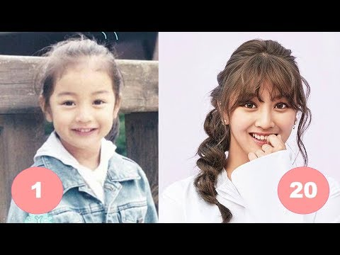 Jihyo TWICE Childhood | From 1 To 20 Years Old