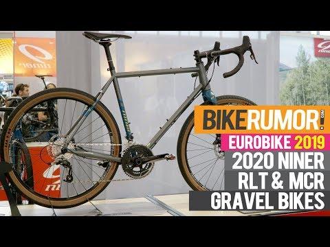 Closeup look at new Niner RLT9 gravel bikes; MCR9 gravel suspension updates