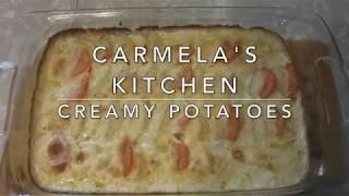 Carmela's Kitchen: Creamy Potatoes
