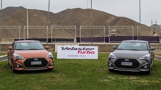 Prueba al Hyundai Veloster Turbo en circuito Car Motor