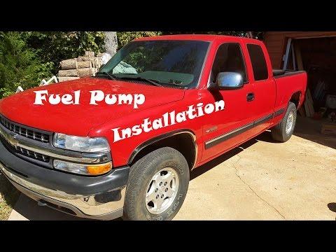 Chevy Silverado Fuel Pump Removal and Installation