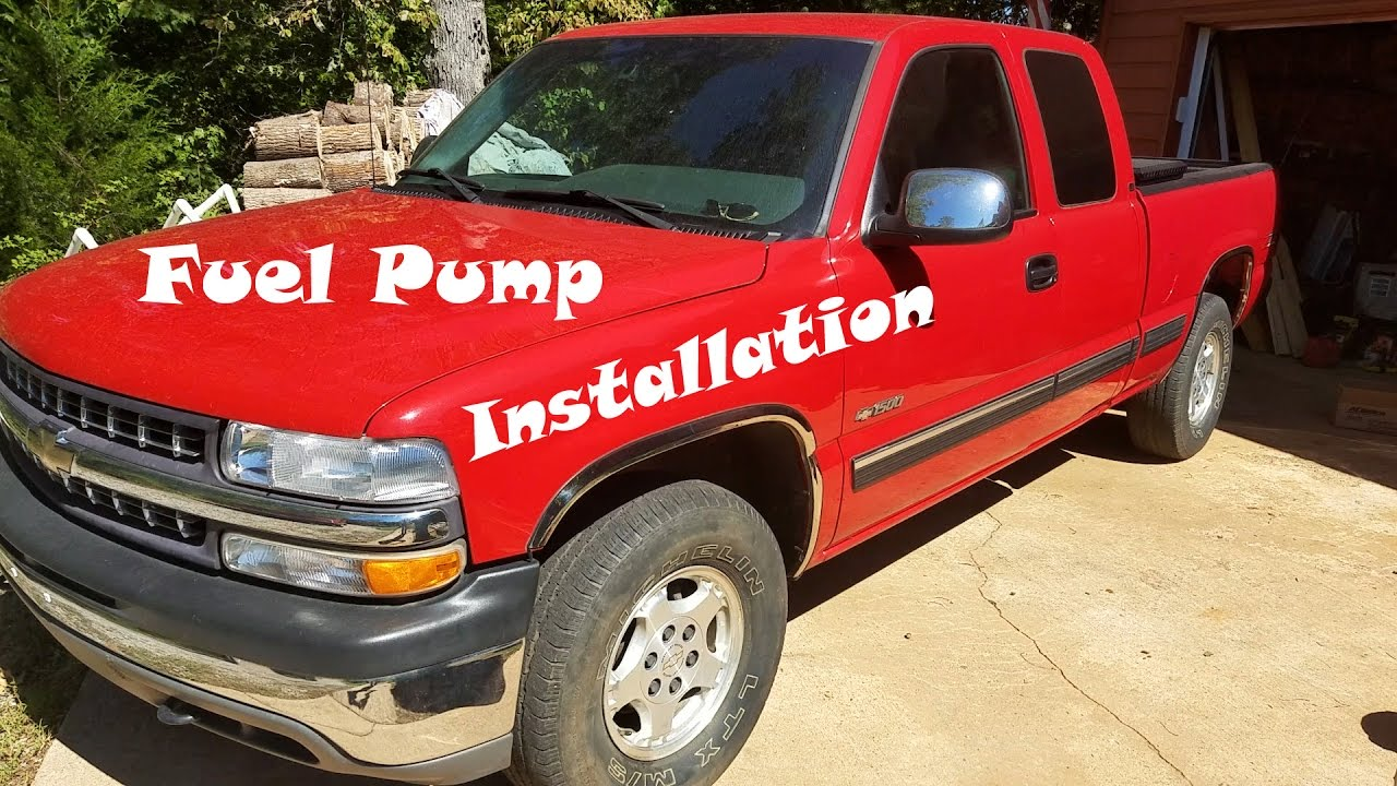 hight resolution of chevy silverado fuel pump removal and installation