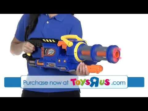 Air Zone Punisher Gatling Blaster YouTube
