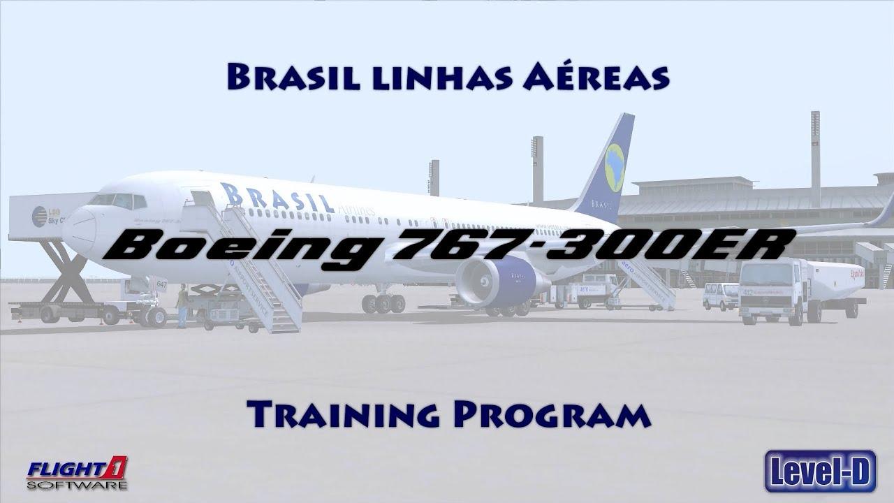 brasil linhas a reas tutorial v2 boeing 767 300er level d pt rh youtube com Procedure Manual Cartoons Procedure Book