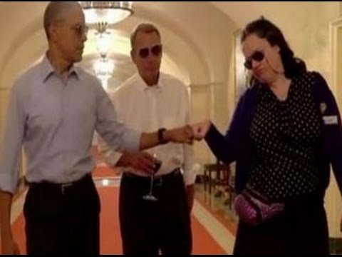 Barack Obama stars in a spoof video to talk about his retirement plans