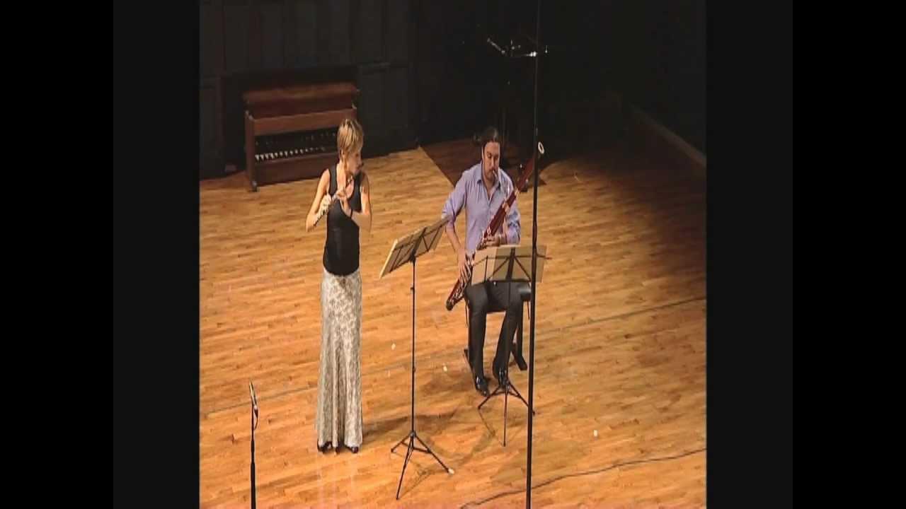 Download Villa Lobos, Bachianas Brasileiras No.6 for flute and bassoon, Thiele & Boudreault, Music Festival