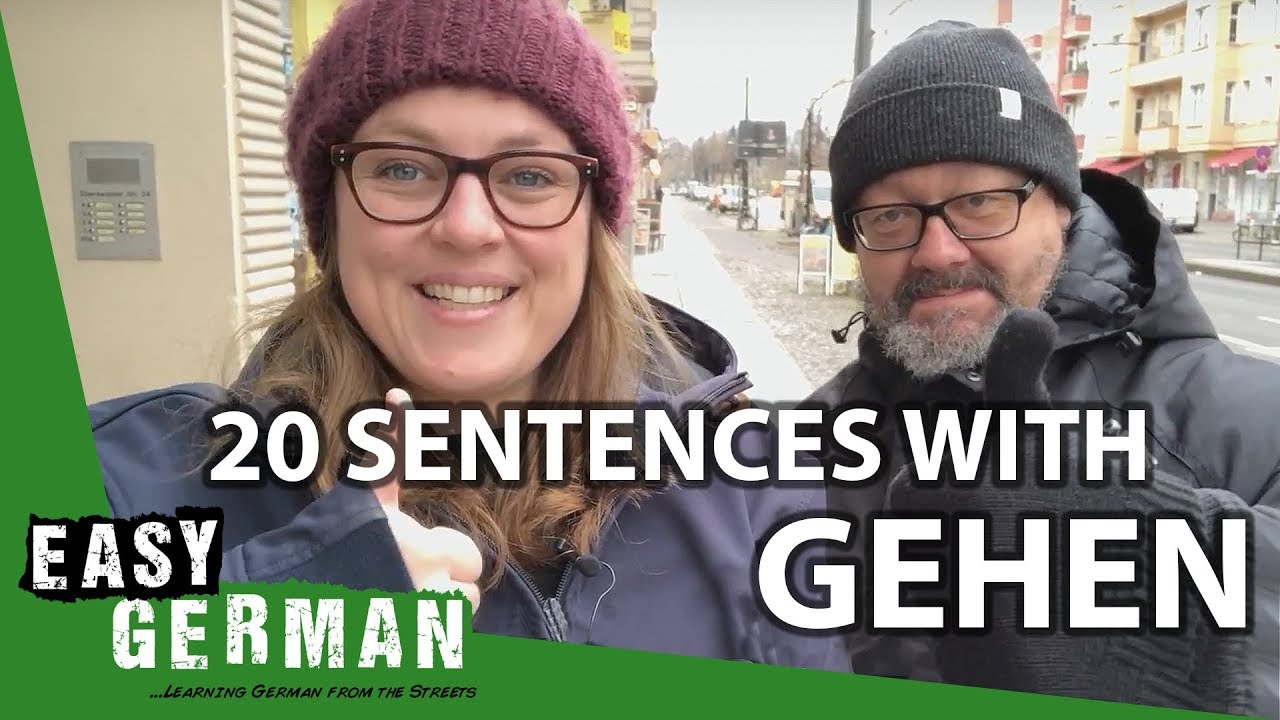 20 Sentences with the Verb \