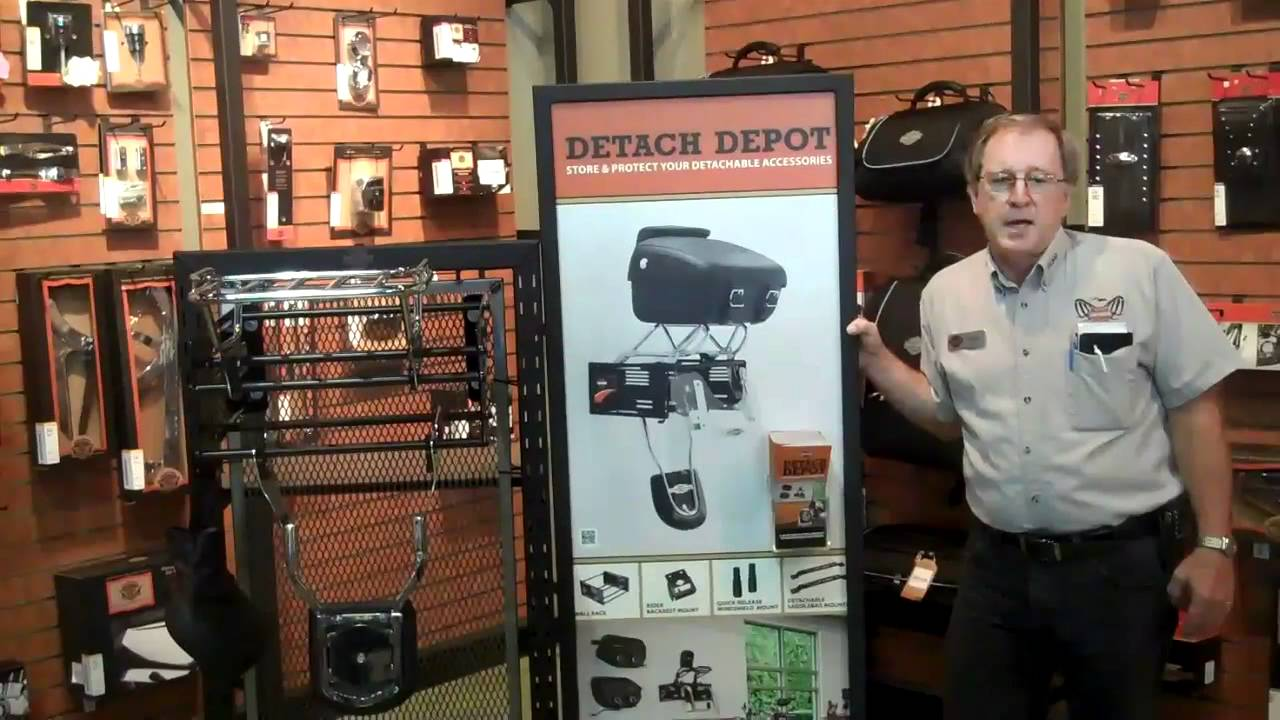 Harley Davidson Detach Depot Accessory To Store Your