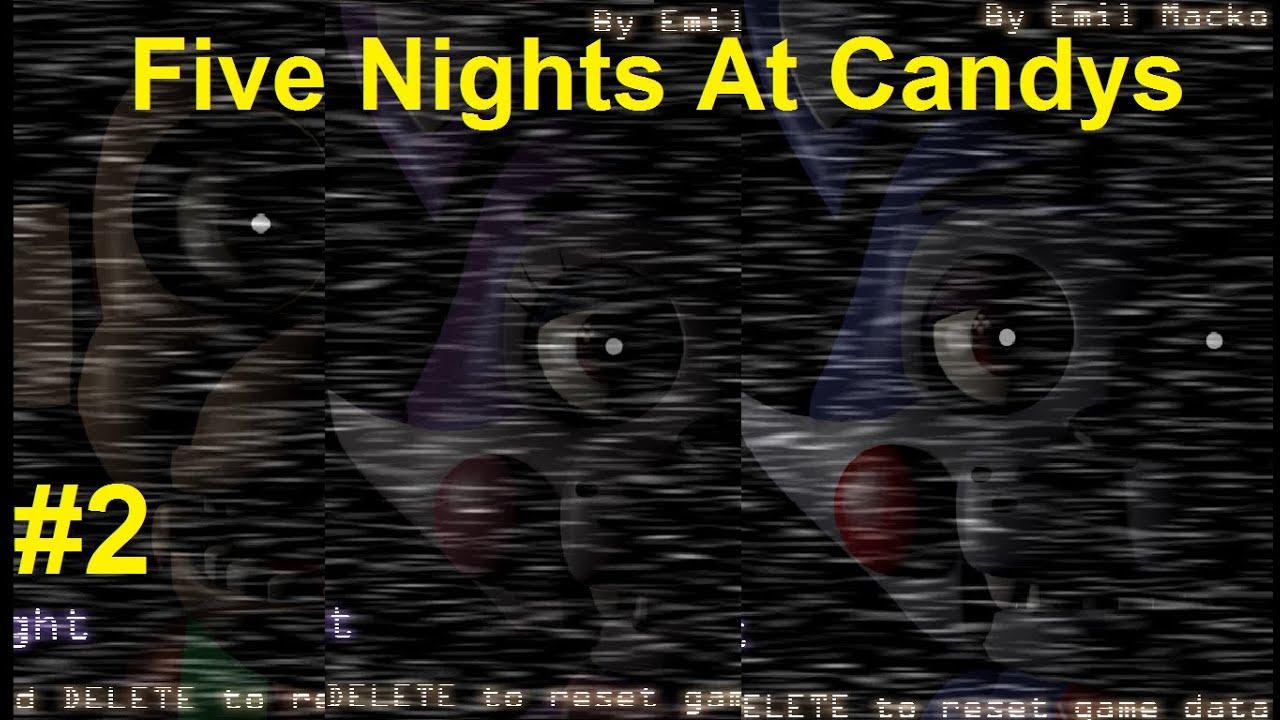 five nights at candys simulator