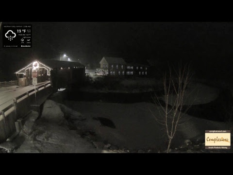 Covered Bridge Webcam Vermont's Mad River Valley