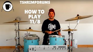 How to Play 11/8 on the Drums | Drum Lesson | Time Signature Tuesday